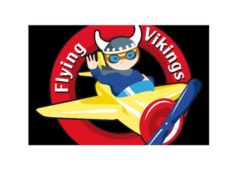 Flying Vikings logo