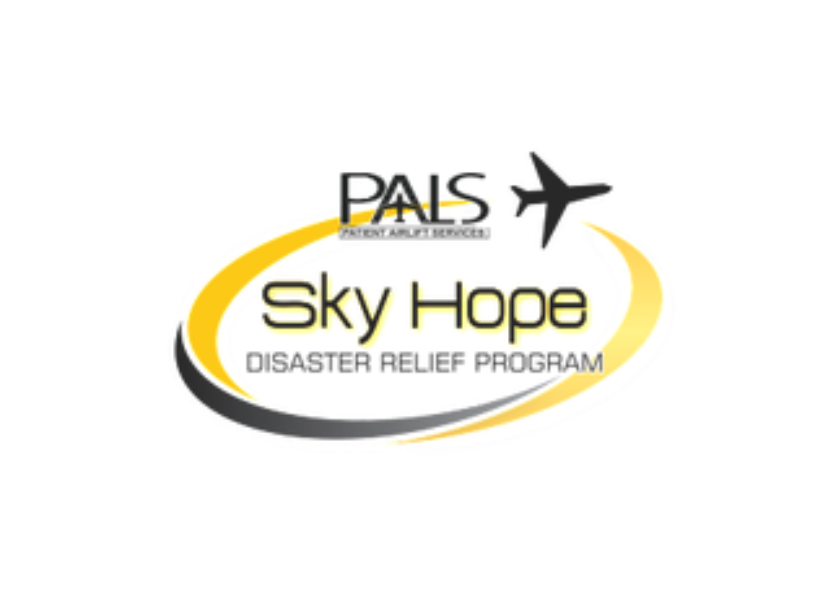 Pilot Airlift Services Sky Hope Disaster Relief Program logo