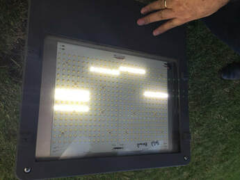 Picture of a poor quality fixture